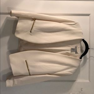 HM cream jacket - size 12 US